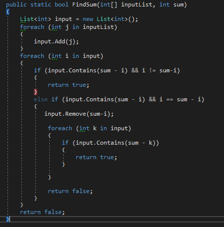Discussion of Daily Coding Problem #1 — DEV