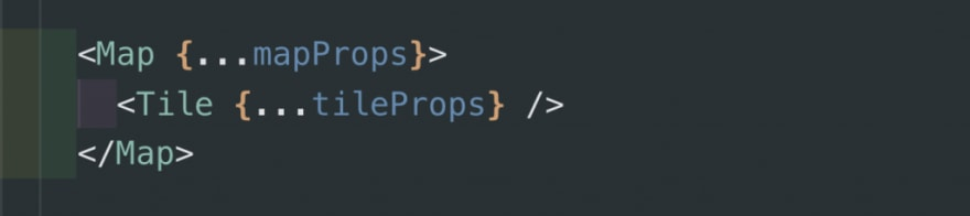 Pseudo map component code