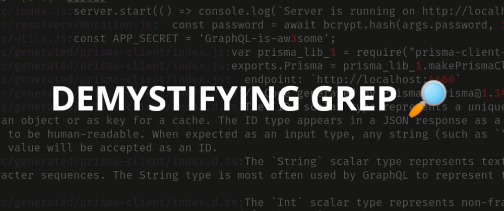 Cover image for Demystifying GREP