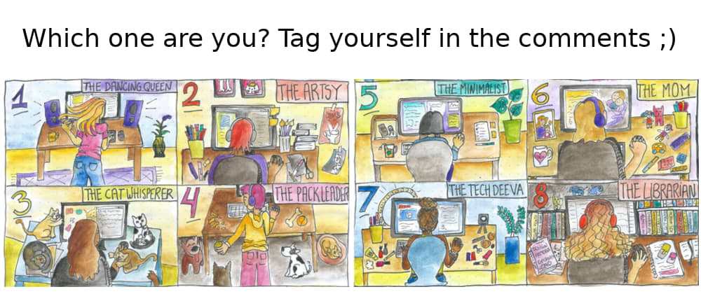 Cover image for Which Techie Are You?