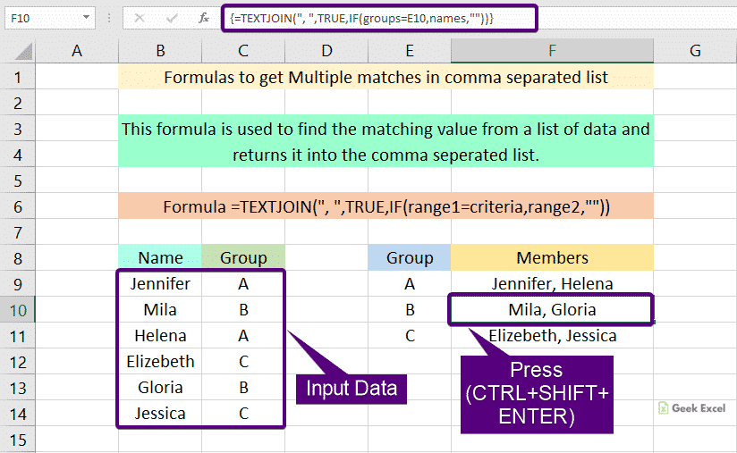 Multiple Matches in Comma Separated List
