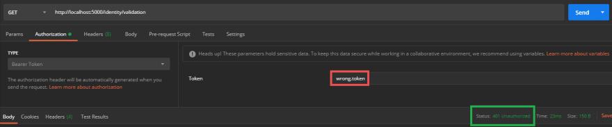 Unauthorized flow validation