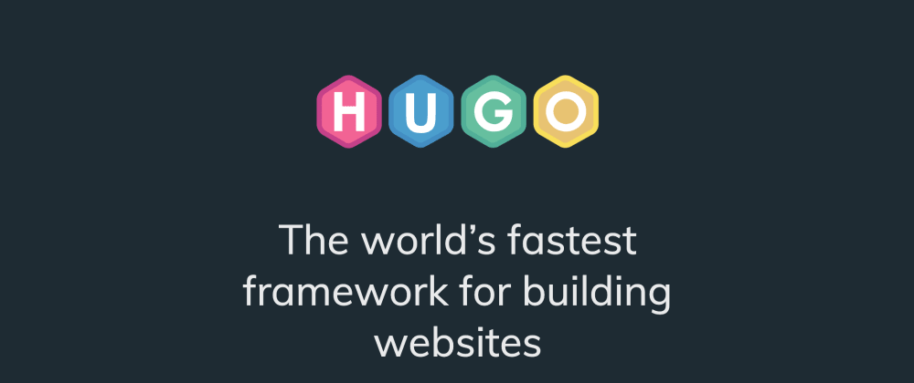 Cover image for Hugo: an almost ideal static website generator