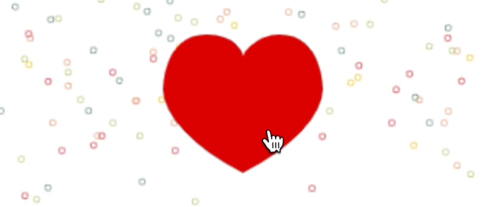 """Cover image for Tutorial: Make an Heart """"clicker"""" with vue.js and firebase"""