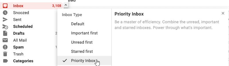 GMail's Priority Inbox