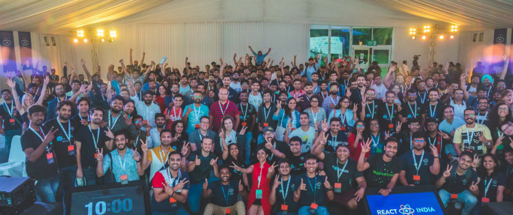 Cover image for React India 2019 🏖
