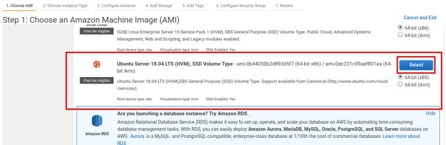 Ubuntu Instance