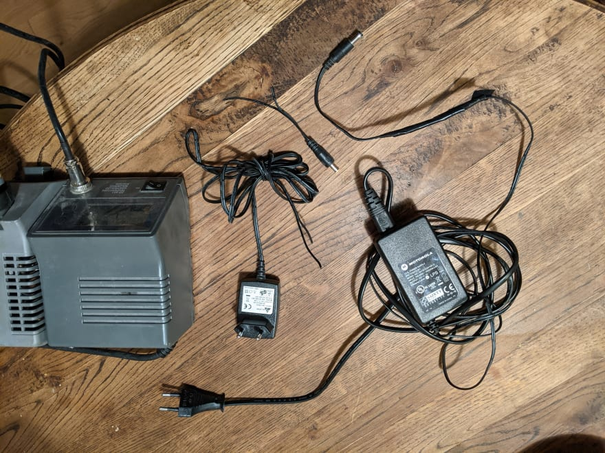 The power adapter