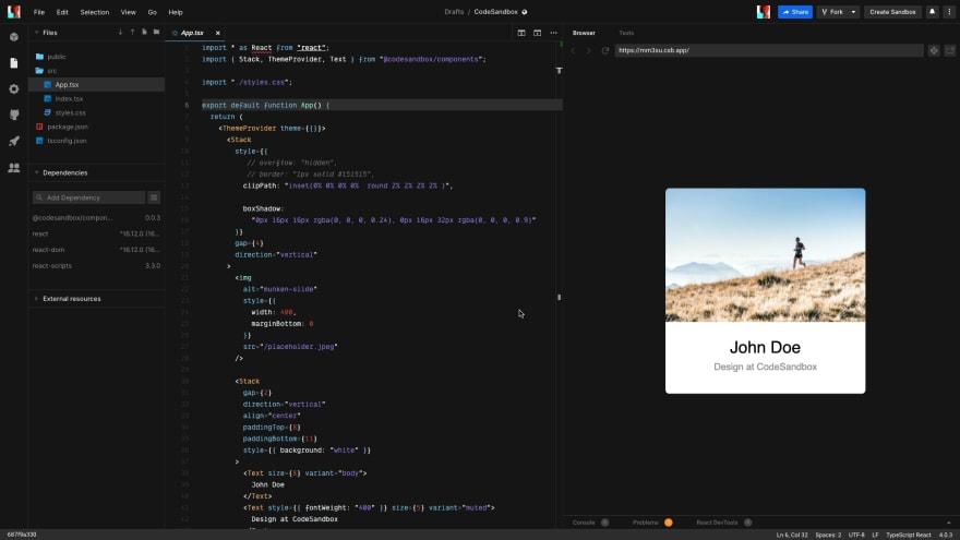 Codesandbox Image