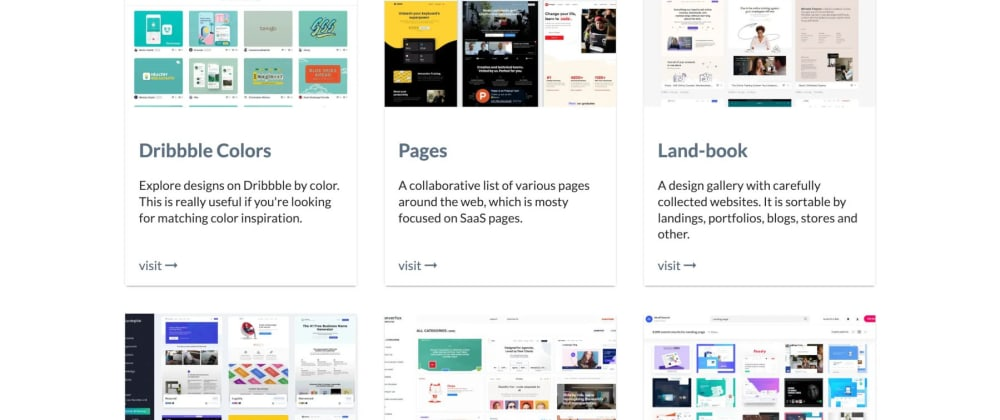 Cover image for Never run out of inspiration for your projects again with these 19 websites.