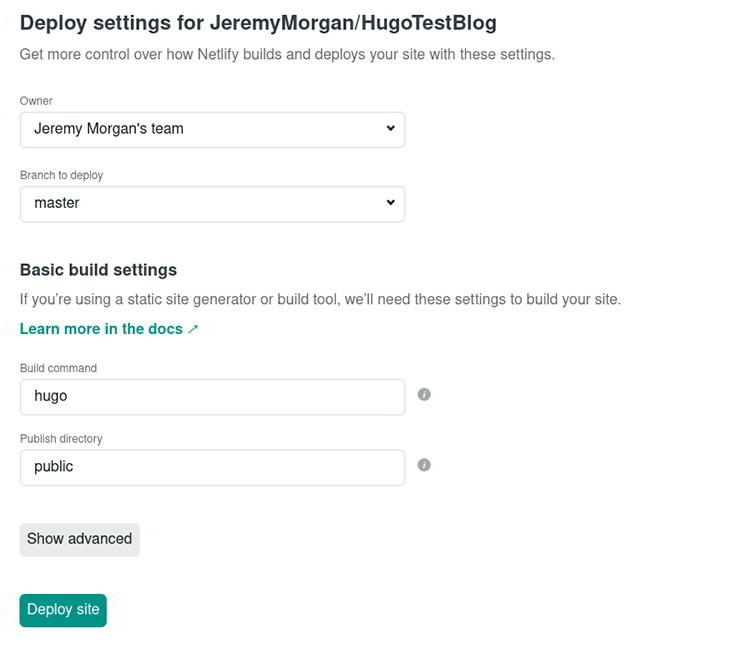 How to build JAMstack website