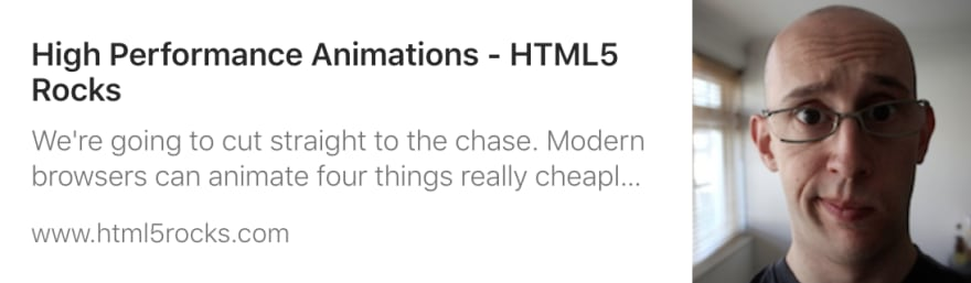 Link to article on HTML5Rocks