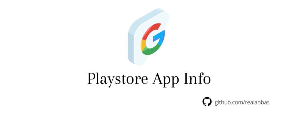 Cover image for 🚀 PlayStore App Info API