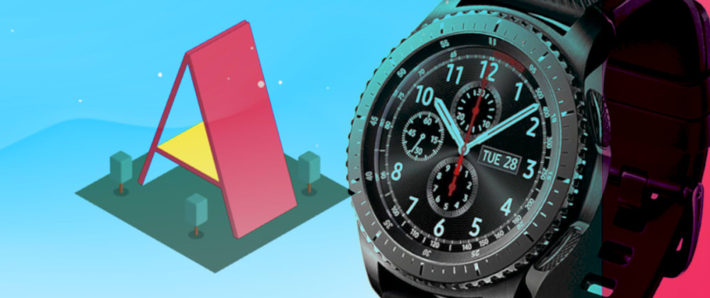 Cover image for Samsung Galaxy Watch: Controlling WebXR 3D Objects In Real-Time