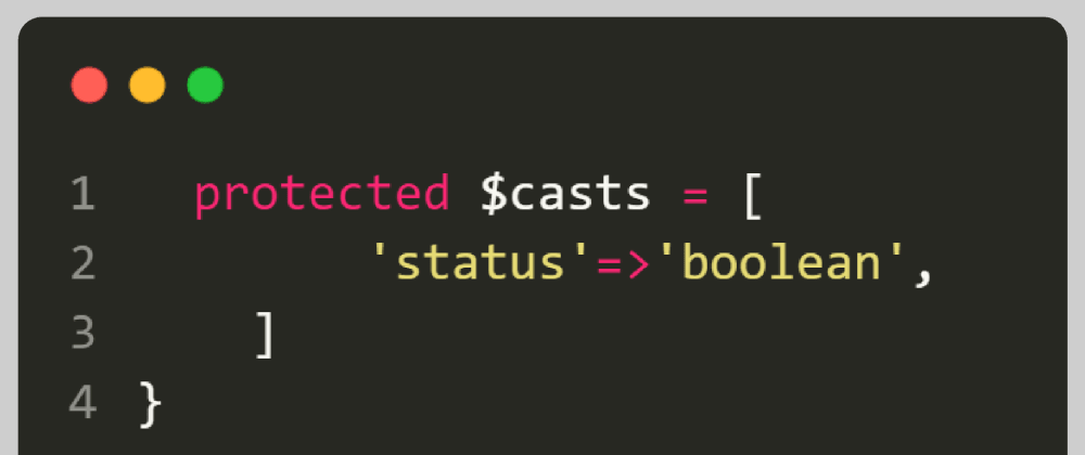 Cover image for Type casting in Laravel