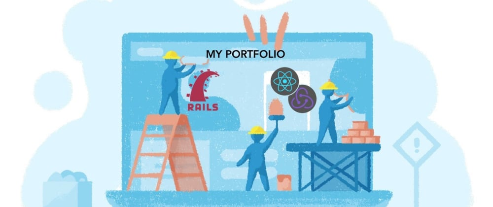 Cover image for Building My Personal Portfolio with React & Redux (pt.1)