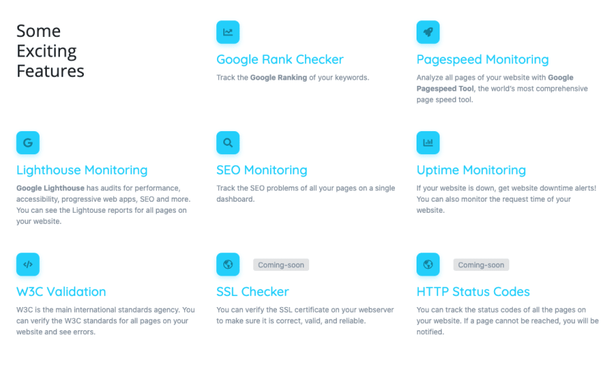 screpy SEO website analysis monitoring tool