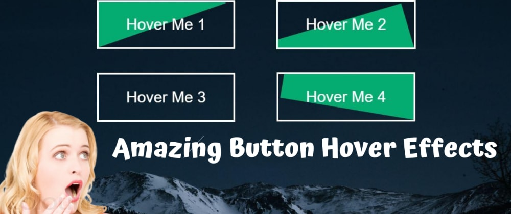 Cover image for Buttons With Animated Hover Effects using HTML & CSS only