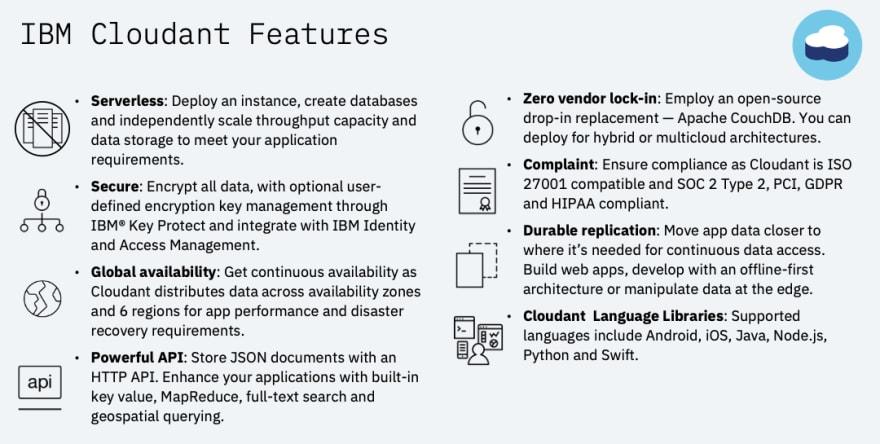 IBM-Cloudant-Features