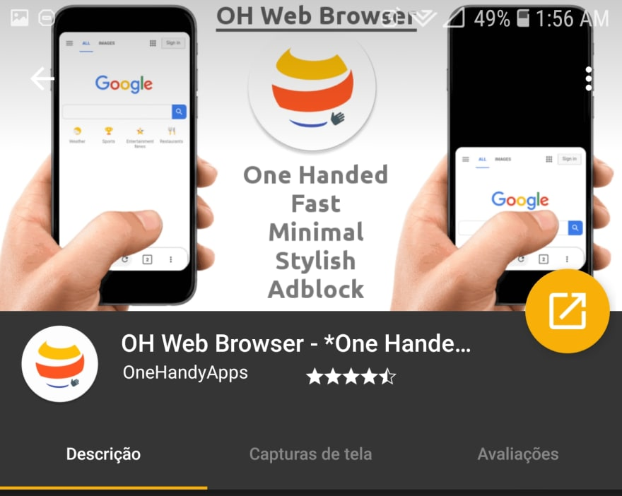 Finally a mobile browser that addresses one of my main complaints