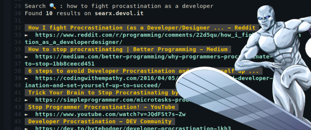 Cover image for Surfing web inside a terminal, because why not?