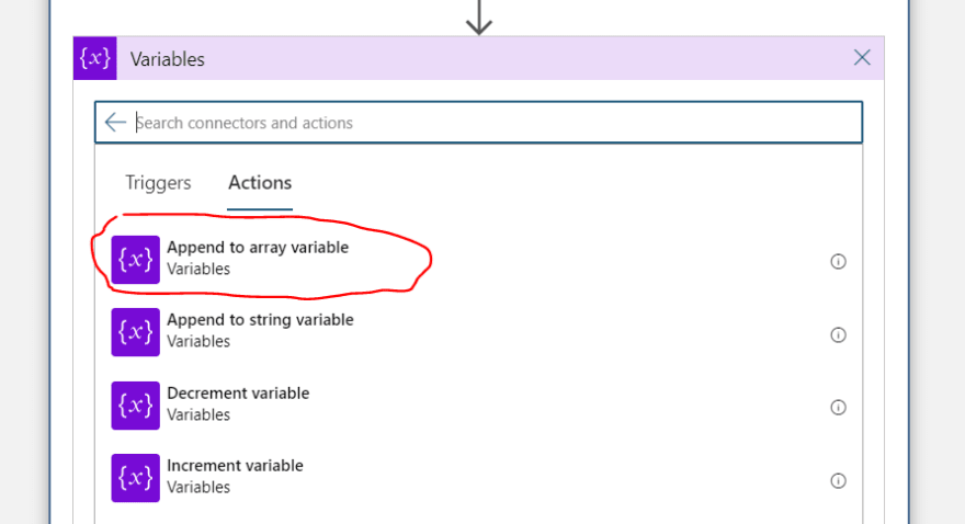 append-to-array-variable