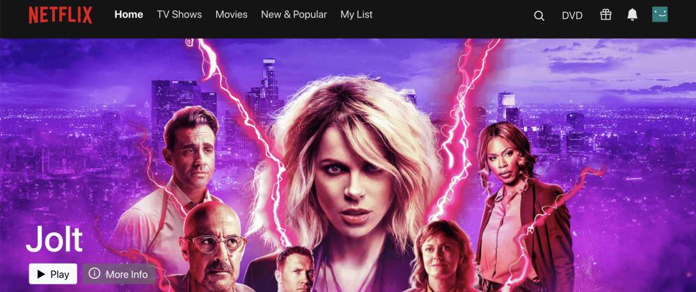 Cover image for Netflix Clone Version 2 - React  & TMDb