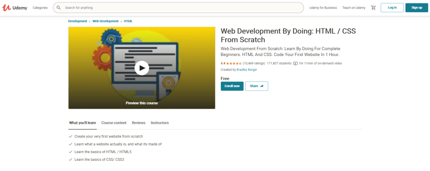 Web Development By Doing: HTML / CSS From Scratch
