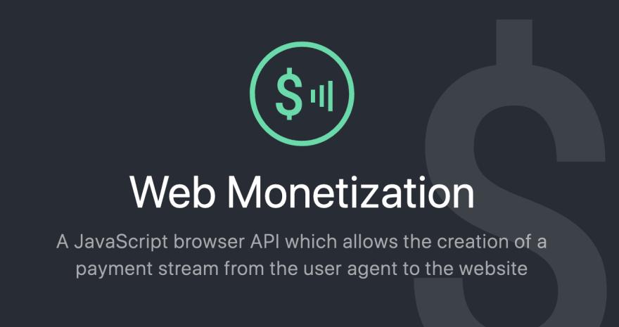 Web Monetization logo