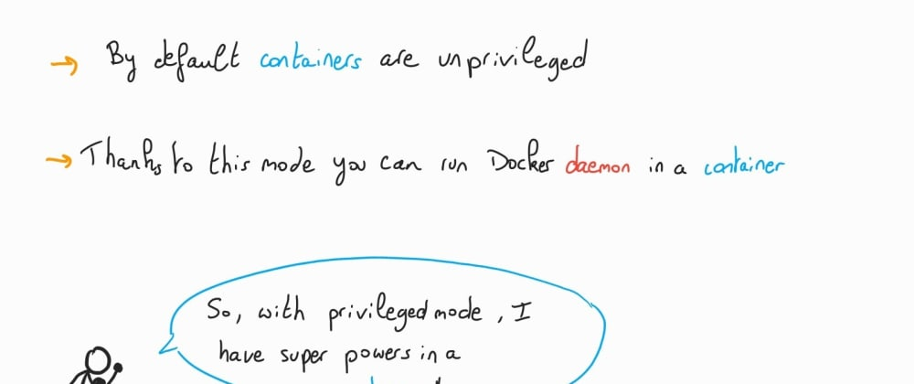 Cover image for Understanding Docker: part 20 – Run with privileged mode