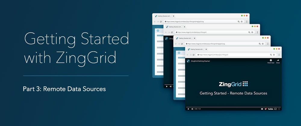 Cover image for Creating a data grid with a remote endpoint using ZingGrid