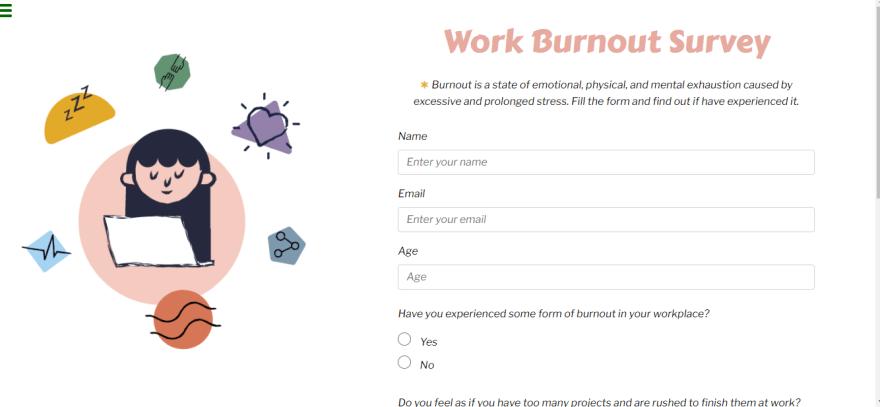 Survey Form by Maru
