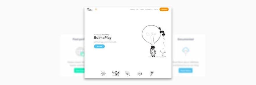 BulmaPlay - Made with Bulma CSS