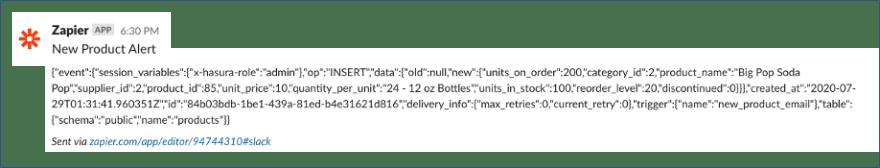 example of message yugabytedb distributed sql hasura graphql tips and tricks