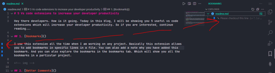 Vs Code extension