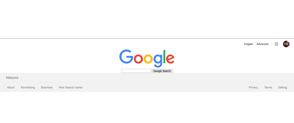 Cover image for Project0 - Recreate Front End of Google Search