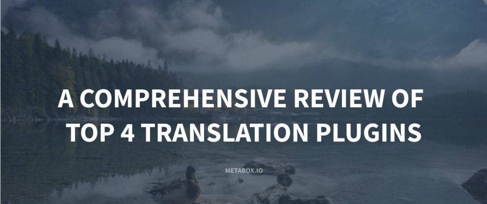 Cover image for A Comprehensive Review of Top 4 Translation Plugins