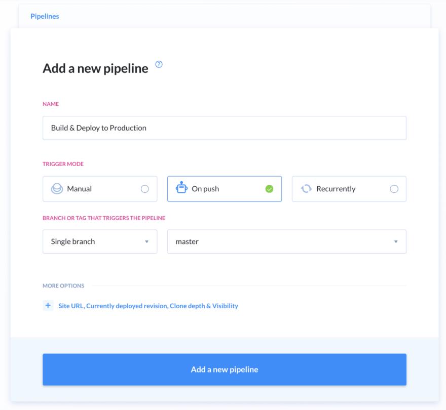 Atomic deployment buddy step add pipeline
