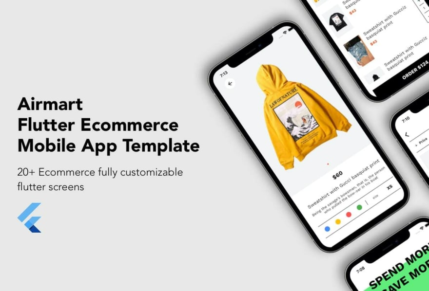 Airmart - flutter e-commerce template