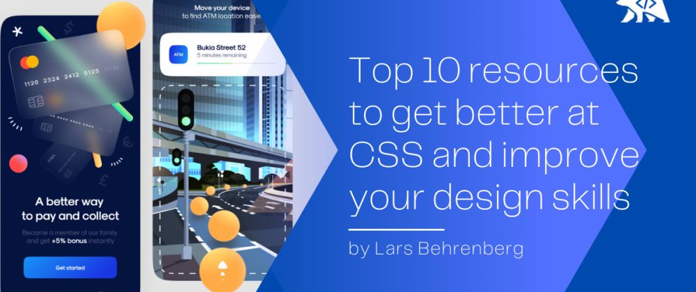 Cover image for Top 10 resources to get better at CSS and become a better front-end developer 👨🎨👨💻