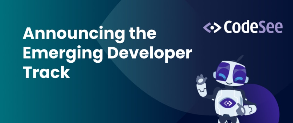 Cover image for Announcing the CodeSee Emerging Developer Track