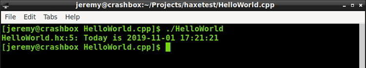 Getting Started with HAXE