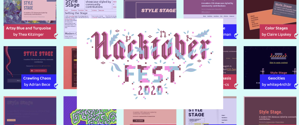 Cover image for A Hacktoberfest Project For All Web Developers: Style Stage