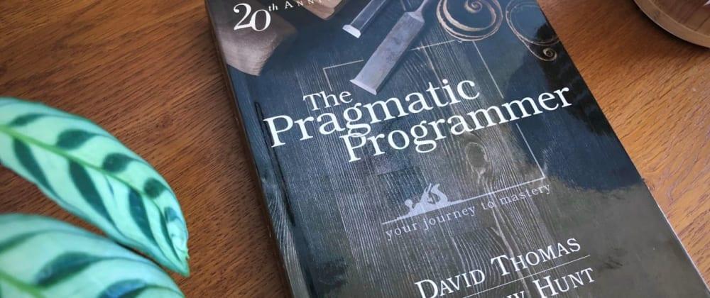 "Cover image for ""The Pragmatic Programmer"" #1 📚"