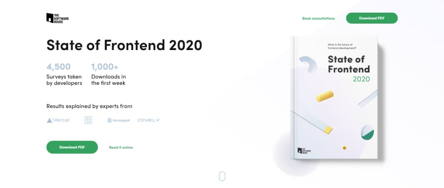 State of Frontend 2020