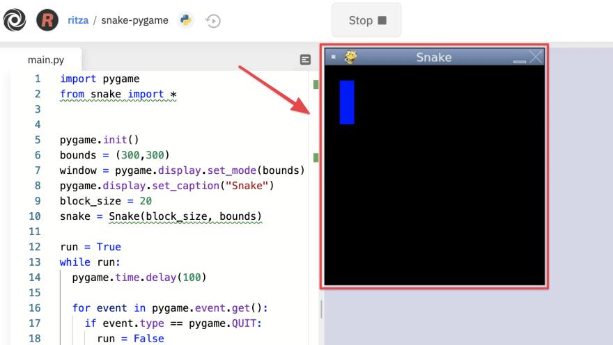 test loop and render