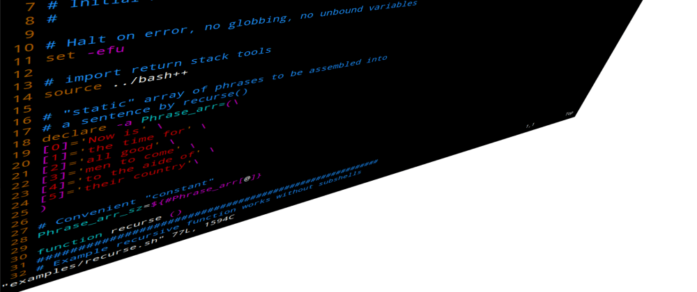 Cover image for Bash++ Classes