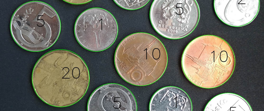 Cover image for Coin Amount Calculation: Discovering OpenCV with Python