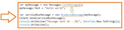 Demo Messaging Code 03