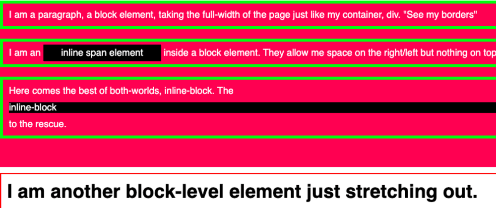 Cover image for CSS Basics Layout Fundamentals: Block, Inline & Inline Block